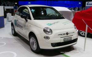 Electric Fiat 500 by Kamoo