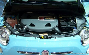 The Twin-Air engine in a Fiat 500