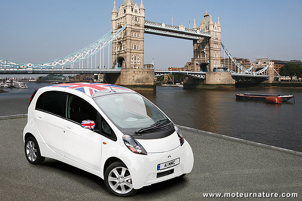 Mitsubishi I-MiEV in London