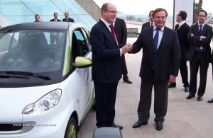Electric Smart Fortwo in Monaco