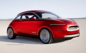 The Ford Start concept with its EcoBoost engine
