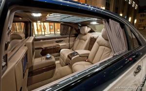 Maybach limousine