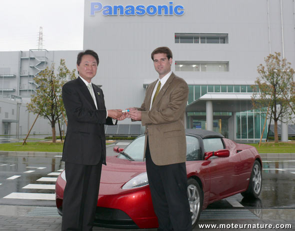 Panasonic to supply Tesla Motors