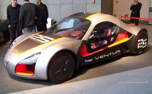 The electric sports car Venturi Volage