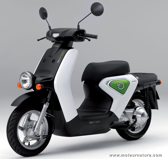 Honda scooter with Toshiba batteries