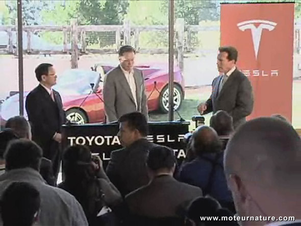 Tesla Motors is teaming up with Toyota