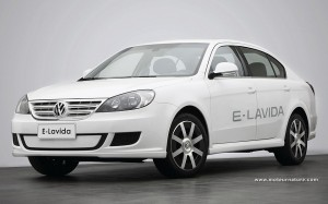 Electric Volkswagen Lavida