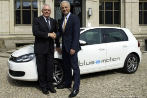 Volkswagen Golf Blue e-motion