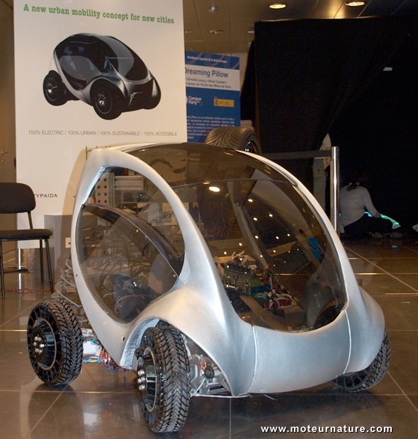 The Hiriko electric vehicle
