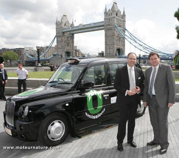 Hydrogen taxi in London