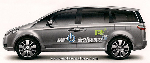 Luxgen electric MPV