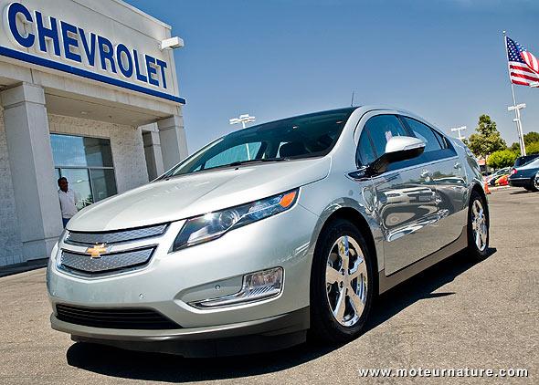 Chevrolet Volt plug-in hybrid