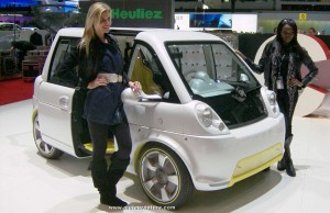 The Heuliez Mia electric car