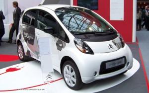 Citroen C-Zero electric car