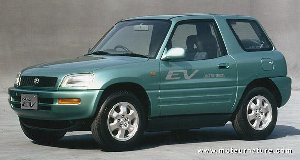 Electric Toyota RAV4 prototype