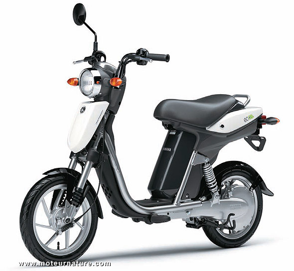 The electric scooter Yamaha EC-03