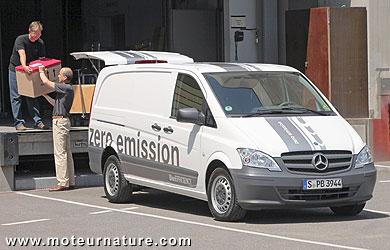 Mercedes Vito E-Cell electric van