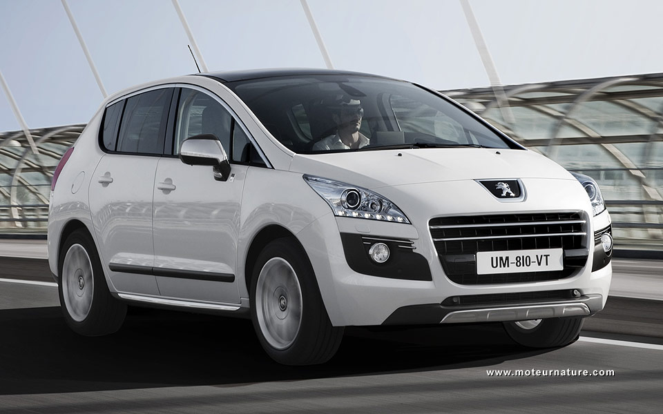 peugeot 3008 hybrid4 the first french hybrid is a diesel. Black Bedroom Furniture Sets. Home Design Ideas