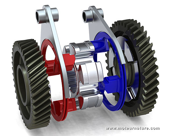 Zeroshift: gears to make electric cars more efficient ...
