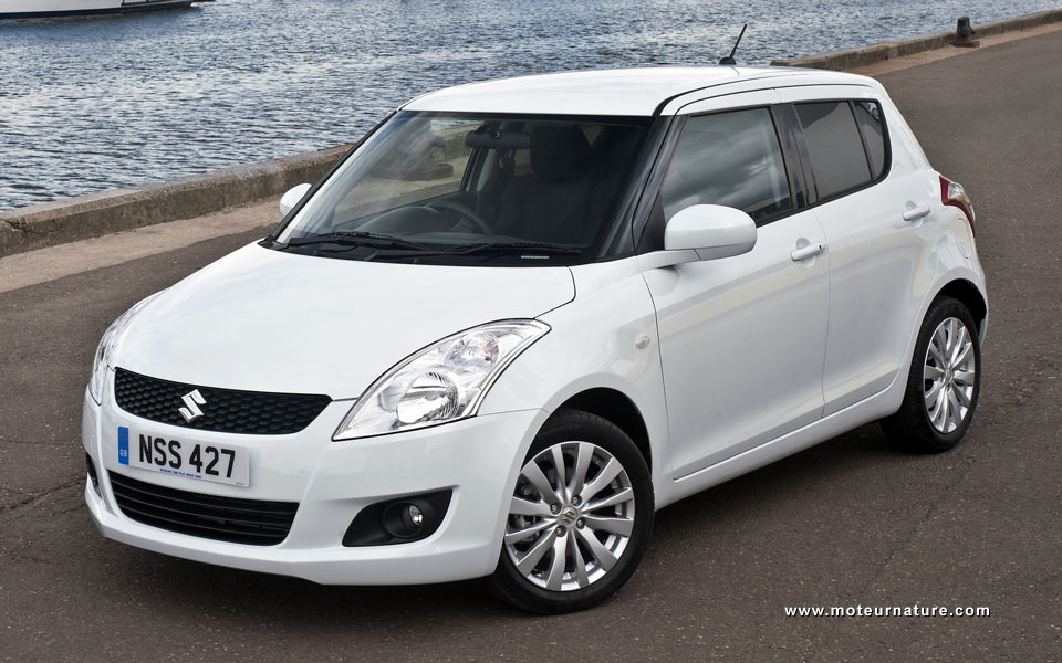 The Suzuki Swift will get a Stop & Start in Paris | MotorNature ...