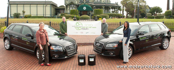 Audi A3 TDI fueled by Rentech