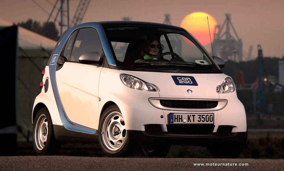 Smart Fortwo For Car2go In Hamburg