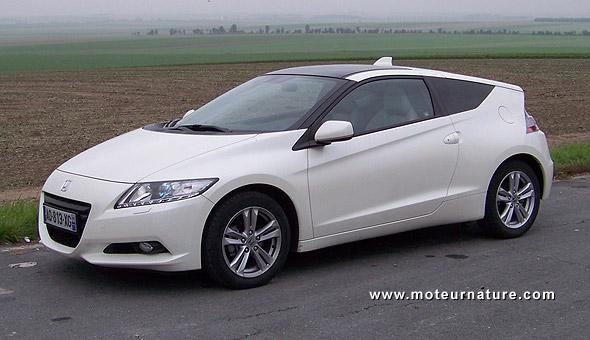 Honda-CR-Z hybrid
