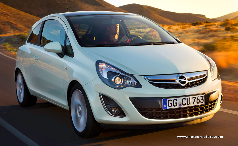 The Opel Corsa Gets A Facelift And A Stop Start To Go With Its