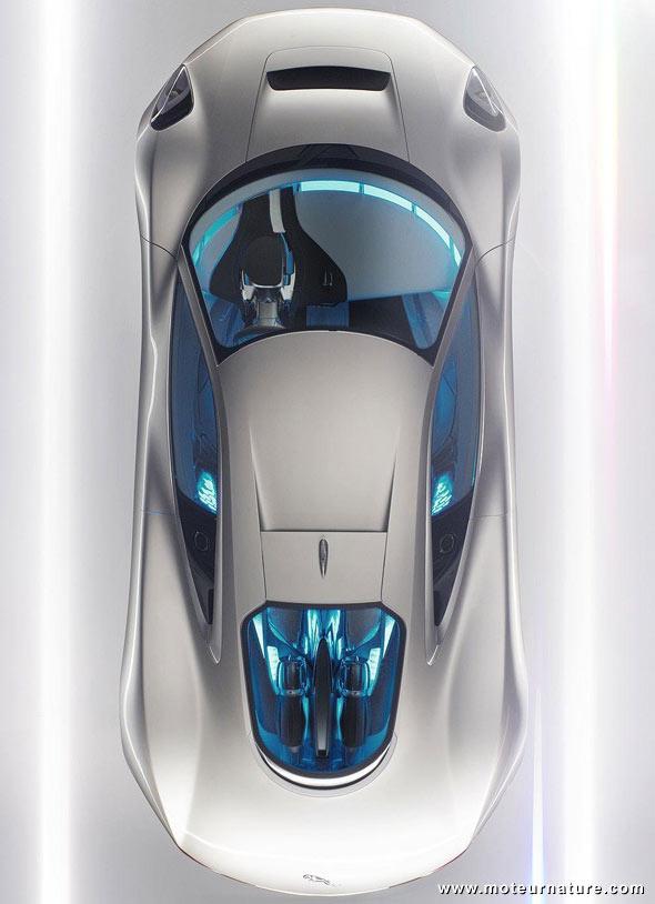 Jaguar c-x75 turbines