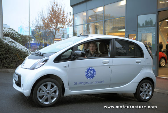 General electric 39 s first electric car is a citroen c zero for General motors customer service number