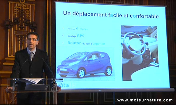 Autolib' presentation in Paris