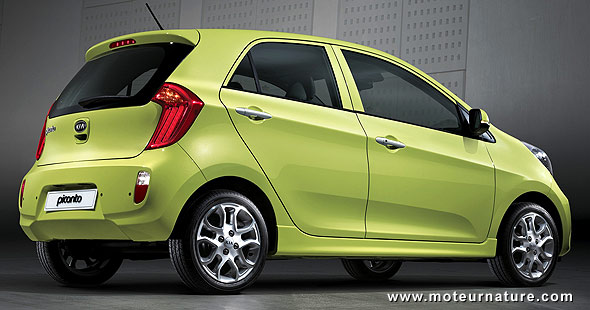 The impressive new kia picanto could find a home in the for Kia motor company usa