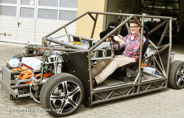 Build A Car From Scratch >> From Braunschweig University Not Your Average 600 Hp
