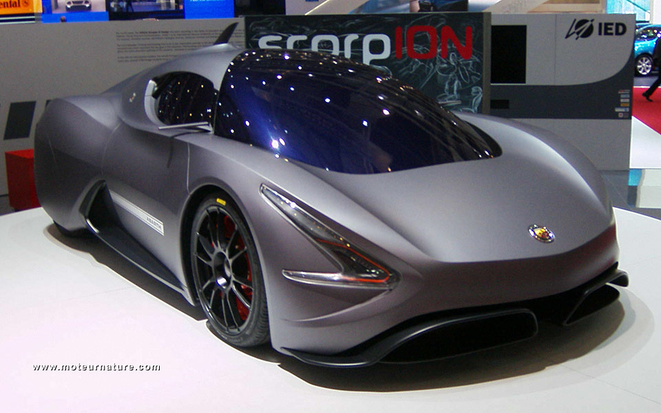 The Electric Abarth Scorpion Concept From Ied