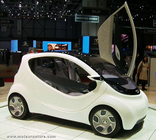 The Most Important Car In Geneva Could Be Indian The Tata Pixel