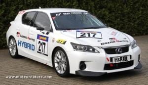 Lexus CT200h Nürburgring