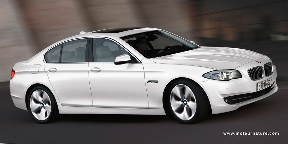 Plug In Hybrids >> BMW 520d EfficientDynamics Edition, the 52 mpg non hybrid family sedan | MotorNature: cars for ...
