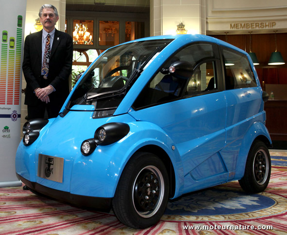 Most efficient electric car unveiled the t27 from gordon for Very small electric motors