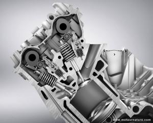 Mercedes-AMG V8 valvetrain