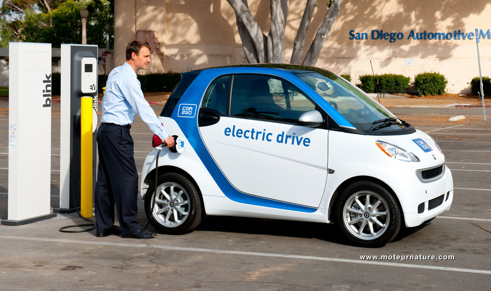 electric car sharing comes to the us car2go in san diego motornature cars for green drivers. Black Bedroom Furniture Sets. Home Design Ideas