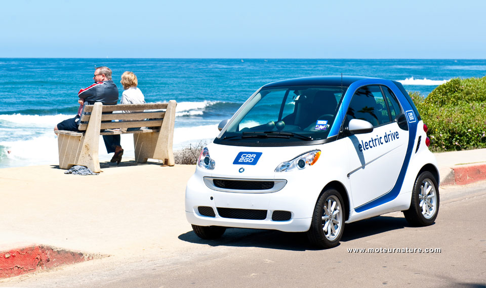Car Sharing Service San Diego
