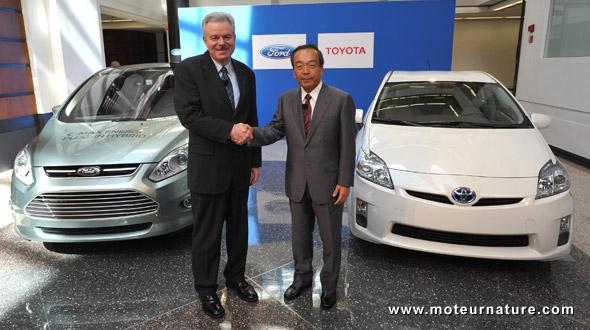 Ford-Toyota hybrids
