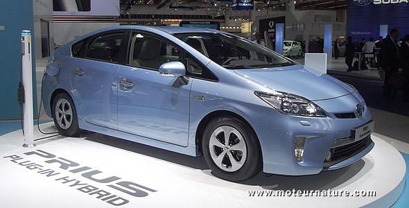 Toyota Prius plug-in in Frankfurt