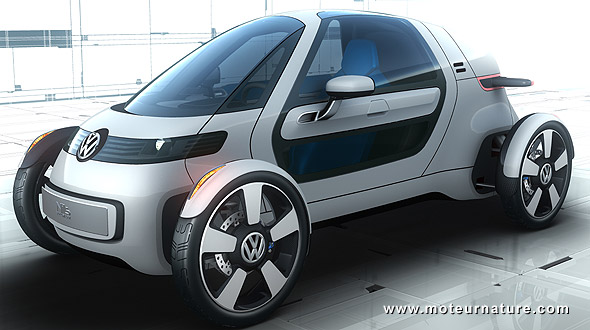 Volkswagen Nils A Sharp And Stylish One Seater Lightweight City