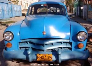Vintage Cadillac in Cuba