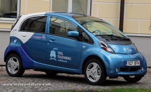 Electric Mitsubishi i-MiEV in Estonia