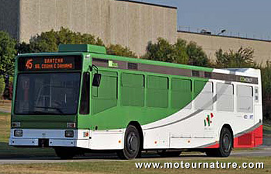 Pininfarina Hybus hybrid bus
