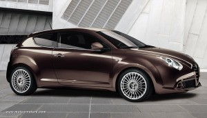 Alfa Romeo Mito with diesel Multijet engine