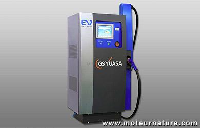GS Yuasa fast charger