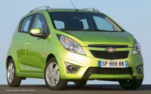 Chevrolet Spark, european gasoline model